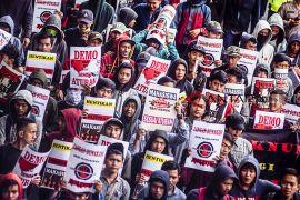 Aksi tolak politisasi mahasiswa