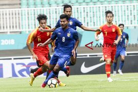 China U-19 melawan Thailand U-19