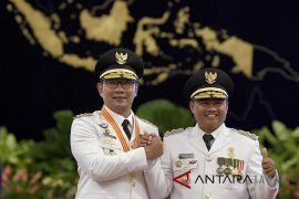 Pelantikan Gubernur Jawa Barat