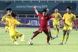 Indonesia U19 dikalahkan Cina U19