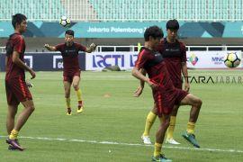 Latihan Timnas China U-19