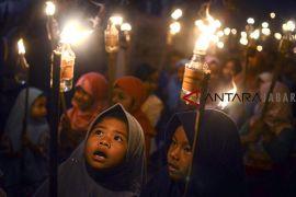Pawai obor sambut Tahun Baru Islam