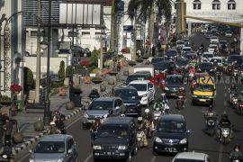 Rencana aturan ganjil Bandung