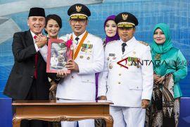 Sertijab Gubernur Jawa Barat