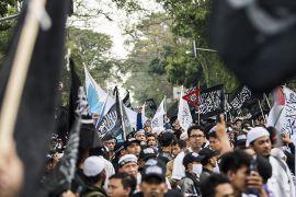 Aksi bela Tauhid di Bandung