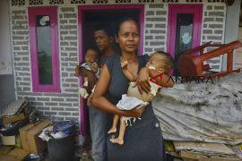 Bayi kembar penderita gizi buruk di Tasikmalaya