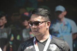 Ridwan Kamil capai finis ITB-Ultra Marathon