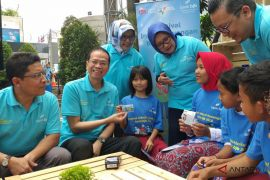 Edukasi nasabah usia dini bank bjb gelar Festival Inklusi Keuangan