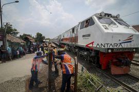 305 titik rawan sepanjang jalur kereta dideteksi, 48 titik di Jabar