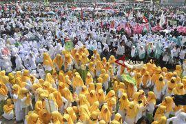 Ridwan Kamil minta santri Jabar harus bawa perdamaian
