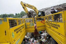Volume sampah kota Sukabumi