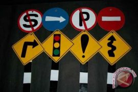 Rambu lalu lintas jalur wisata Garut akan ditambah