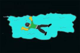 Polisi lakukan pencarian korban tenggelam di Waduk Jangari, Cianjur
