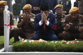 Presiden Joko Widodo ziarah hari Pahlawan
