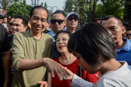 Jokowi sambangi Pasar Cihaurgeulis dan CFD Dago Bandung