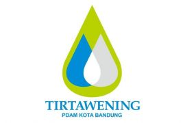 Pipa transmisi PDAM Tirtawening Kota Bandung pecah