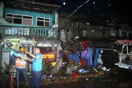 'Terasa mau kiamat, angin kencang Bogor Selatan menakutkan'