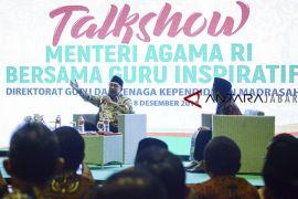 Talkshow bersama Menteri Agama