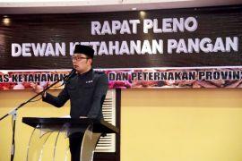 Gubernur Jabar minta daerah serahkan basis data pangan lengkap