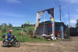 Alat peraga kampanye Partai Nasdem di Cianjur dirusak