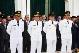 Gubernur Jabar lantik Bupati - Wakil Bupati Subang dan Majalengka