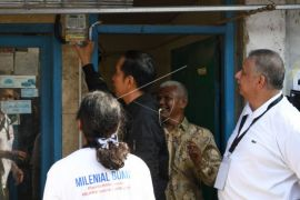 Presiden tinjau pemasangan listrik warga tak mampu di Bogor