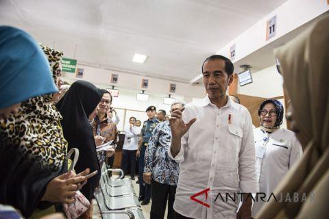 Presiden Kunjungi RS Hasan Sadikin