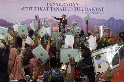 BPN Sukabumi jemput bola pembuatan sertifikat tanah