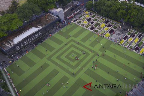 Alun-alun Bandung kawasan favorit untuk ngabuburit