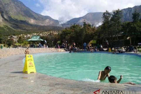 Taman Wisata Gunung Papandayan ramai pengunjung