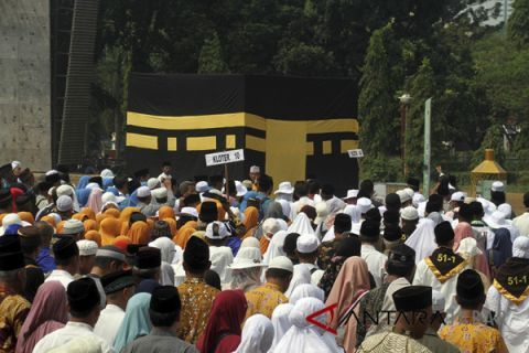 Kloter pertama haji Jabar Kabupaten Sumedang