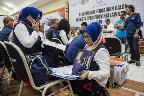 KPU Cirebon: semua partai sudah daftarkan bacaleg