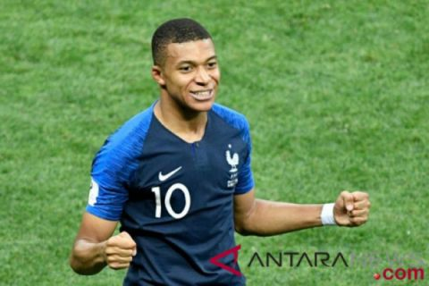 Mbappe pemain termuda cetak gol final Piala Dunia setelah Pele