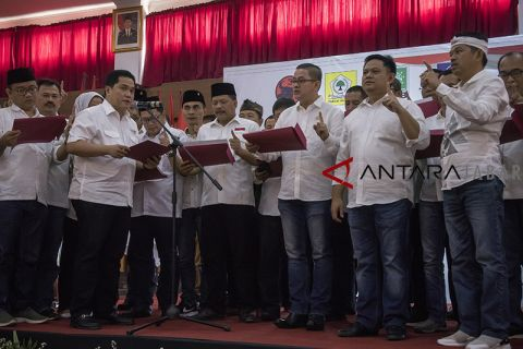 Pengukuhan TKD Jabar Jokowi-Ma