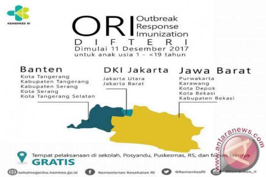 Pemprov Jabar Imbau Warga Ikuti Imunisasi Difteri