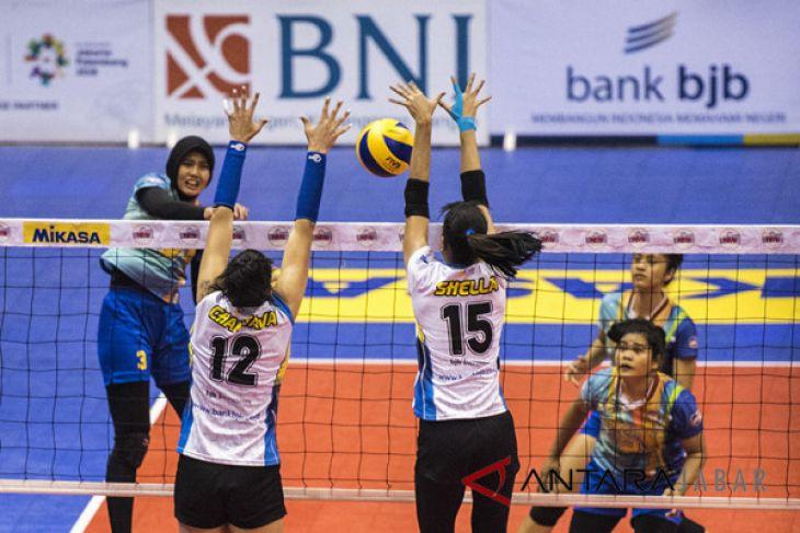 Bandung Bank BJB Pakuan Menang
