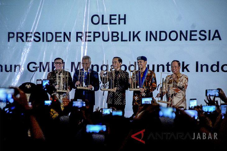 Presiden Jokowi membuka Kongres GMKI