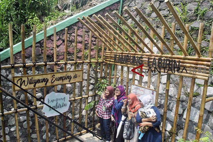 Wisata kampung Labirin