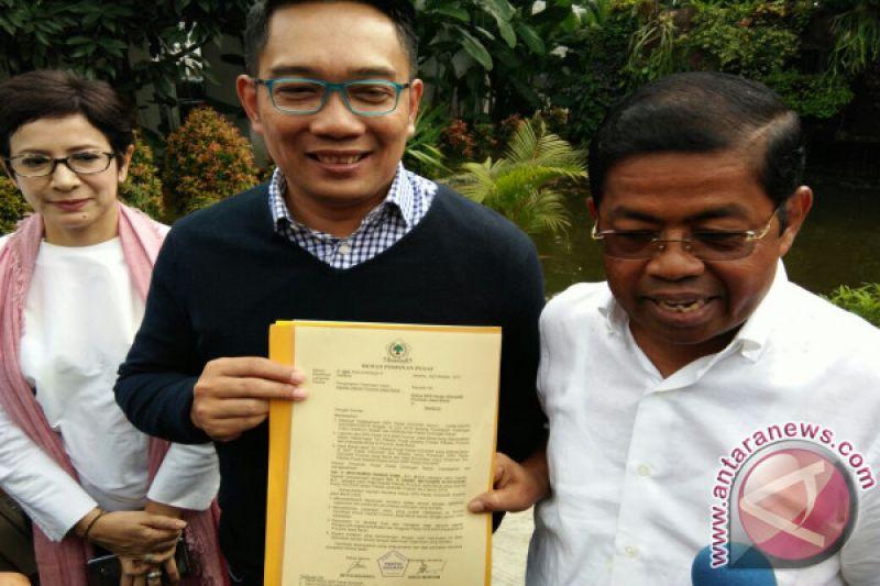 Idrus Marham: Surat Dukungan Ridwan Kamil Sudah Final