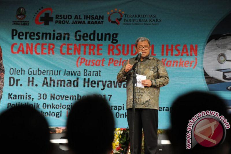 Gubernur Aher Imbau Warga Tetap Waspada Gempa