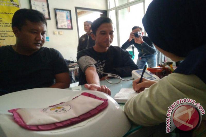 Belasan Wartawan Cianjur Mendapatkan Vaksin Difteri
