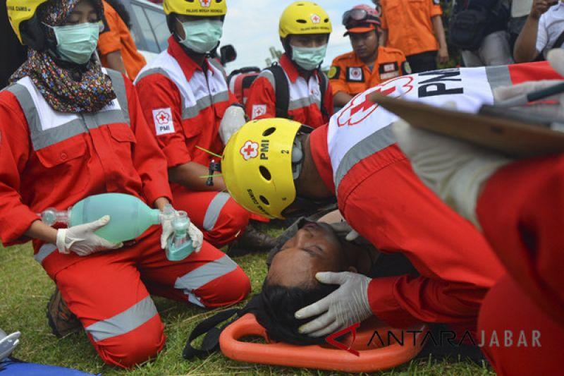 SAR Garut selamatkan wisatawan penderita heat exhaustion