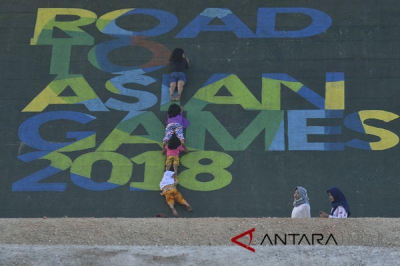 Jalan disterilkan sambut rombongan Obor Asian Games