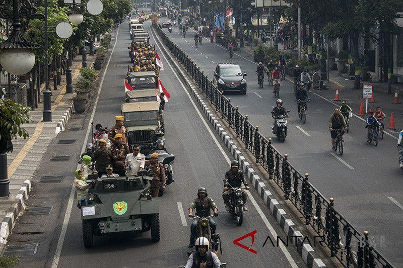 Parade juang Legiun Veteran