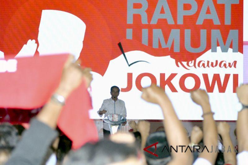 Pusat Relawan Jokowi/Ma`ruf Cianjur terbentuk