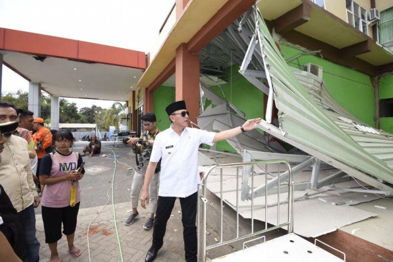 Guncangan 6,2 SR iringi penyerahan bantuan Jabar Peduli