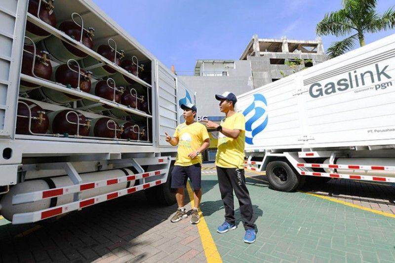 Gaslink truck juga disebar ke kota-kota di Jabar