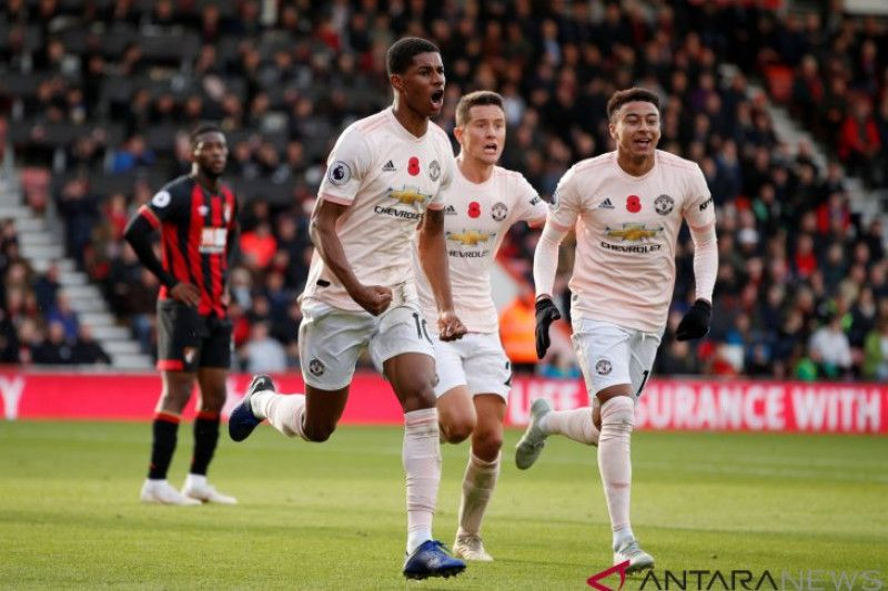 Gol 'injury time' Rashford menangkan MU atas Bournemouth