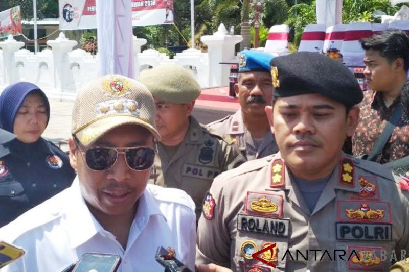 Polresta Cirebon siagakan personel jelang Natal-Tahun Baru