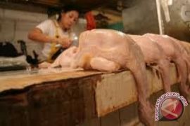 Harga daging ayam kembali naik di Kota Singkawang